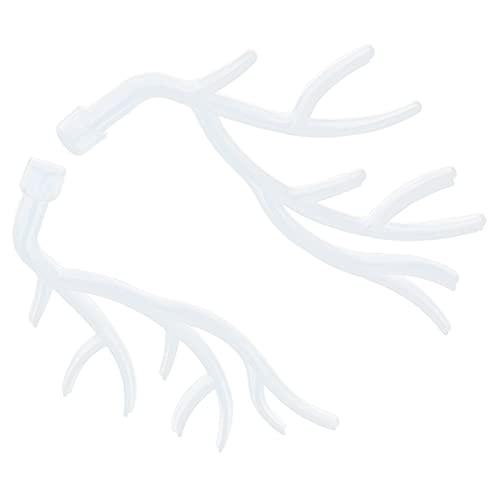 Lantuqib Molde de Cuerno de Ciervo, Molde de astas de Silicona Moldes de Silicona para Bricolaje para la Familia para la casa