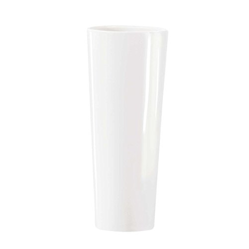 ASA Vase, Keramik, Weiß, 24x24x61 cm
