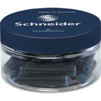 30 Schneider Schreibgeräte Standard - Tintenpatronen 6723 mitternachtsblau