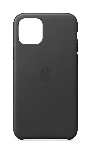 Apple Leder Hülle (für iPhone 11 Pro) - Schwarz - 5.8 Zoll
