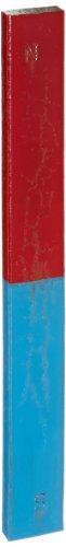 Ajax Scientific MA240-0150 Staal Rechthoekige staafmagneet, 150 mm Lengte x 19 mm Breedte x 7 mm Dikke (Pak van 2)