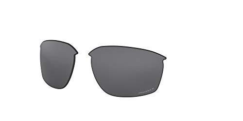 Oakley AOO9414LS Sliver Edge Sport Replacement Sunglass Lenses, Prizm Black Iridium Polarized, 63 mm