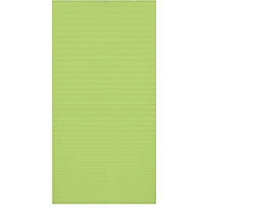 Persiana veneciana (con pinzas, sin agujeros, plegable). Estor para ventana., tela, verde,...