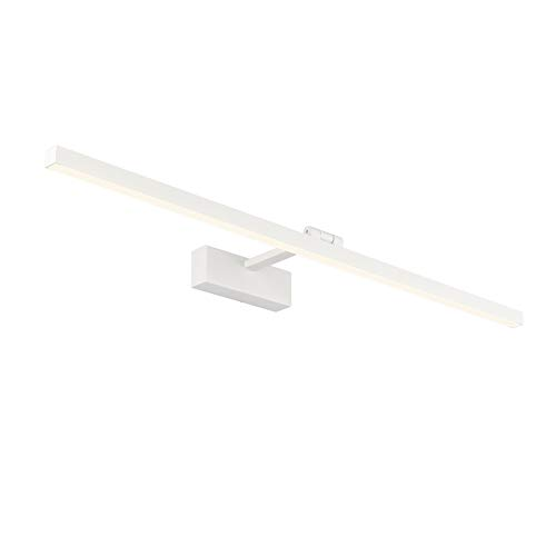Klighten LED Spiegelleuchte 3000K Warmweiß IP44 Wasserdichte 180° Rotation Badleuchte Wandbeleuchtung Schminklicht Badlampe für Badzimmer Spiegel, 80cm