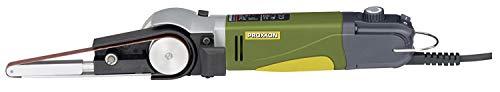 Proxxon Bandschleifer BS/E (Präzision Schleifer 80 W; je 2x Schleifband 10 x 330 mm K80, K180; Schleifarm Schwenkbar) 28536