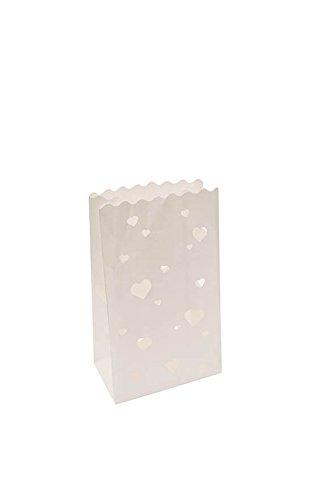Simplydeko Lichttüten | Lichtertüten Papier Windlicht | Für Hochzeit, Weihnachten, Geburtstag...
