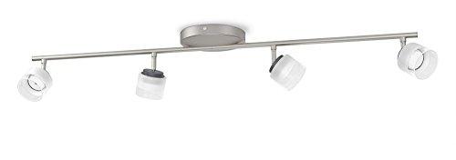 Philips 533341716 Fremont Luminaire d'Intérieur Spot LED Métal Chrome 4 W