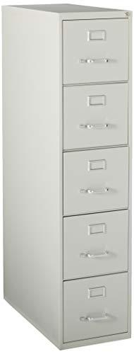 Lorell LLR48499 Commercial Grade Vertical File Cabinet, Light Gray