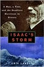 Isaac's Storm 1st (first) edition Text Only
