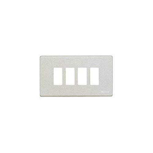 BTicino Magic 504/4/BR 4 Modules Plate, Brons