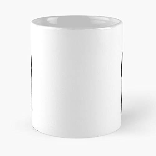 I Do Klaine - Total Black - Les meilleures tasses à café Blanches de 11 oz, 15 oz En céramique ! Personnaliser