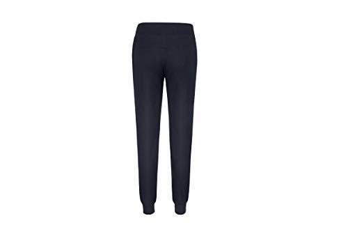 Women's Solid Cotton Sweatsuit 2 Piece Sports Active Casual Long Sleeve Sweatshirt and Sweatpants Zip up Tracksuits (Navy, Medium)