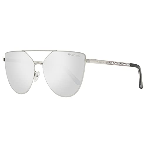 GUESS by MARCIANO Ladies Sunglasses Butterfly Silver