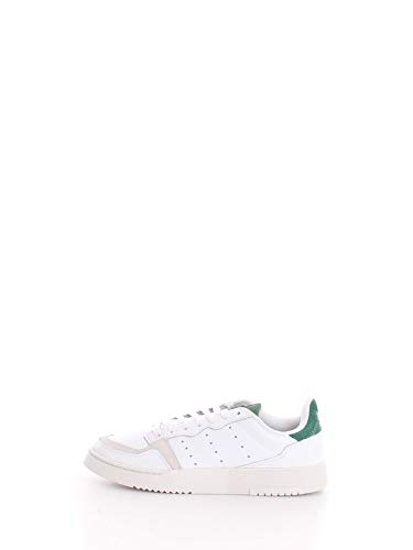 adidas Originals Supercourt, Footwear White-Footwear White-Collegiate Green, 11