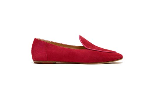 Etienne Aigner Camille Loafer (Cherry, 5.5)