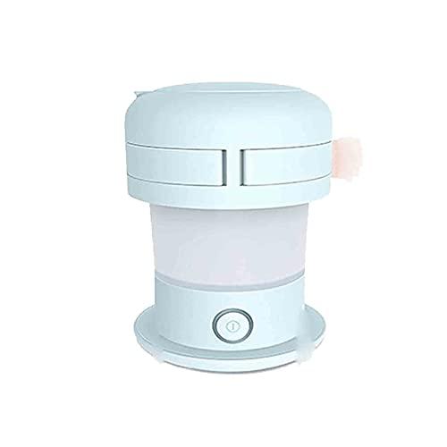 SONG Hervidor eléctrico, hervidor de Silicona Plegable, fácil de Almacenamiento con Cierre automático, protección contra hervir seco, Cable de alimentación Separable, para Viajes al Aire Libre