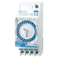 Orbis duo - Interruptor horario modular duo qrs 120v ca