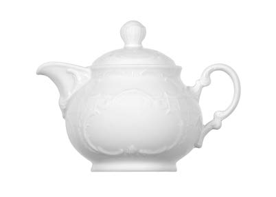 Teekanne Komplett 0.35 l MOZART WEISS Bauscher (6 Stück)