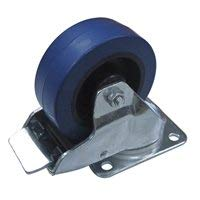 Penn Elcom Casters with for Heavy Duty Roadcases, Flightcases, and Heavy Equipment (Caster Single (1 Braking Caster))