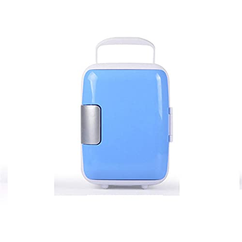FIONAT Refrigerador eléctrico de coche 4L hogar de coche de doble uso Mini máquina de refrigeración congelador USB nevera portátil 17,5 * 23 * 24 cm