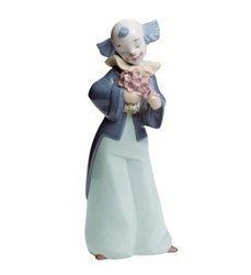 Lladro Nao Porcelain Figurine Courteous Clown by Lladro