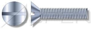 8000pcs 10-24X5 8 Virginia Beach Mall Machine Screws Flat Steel Zinc Slot Drive P Max 77% OFF