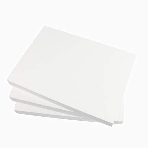 ZADAWERK® Placa de poliestireno - 30x42x4 cm - 3 piezas - aislar - trastear - trabajar