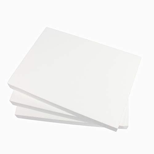 ZADAWERK® Placa de poliestireno - 30x42x4 cm - 3 piezas