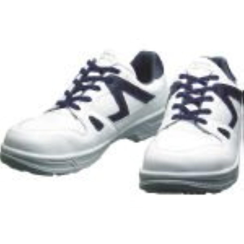 シモン/シモン 安全靴 短靴 8611白/ブルー 27.5cm(3514170) 8611WB-27.5 [その他]