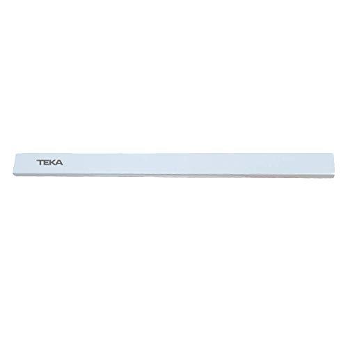 MIRTUX Frontal Campana Extractora Teka. Modelo CNL1-2002. Color Blanco. Medidas: 60 cms Largo y 4,5 cms de Alto. Código del Recambio: 61836240