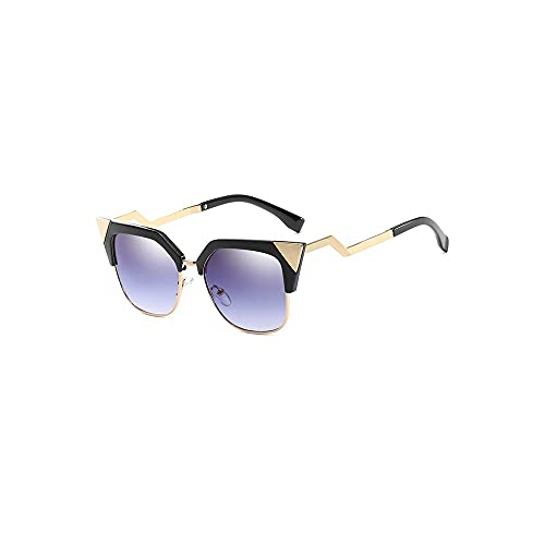 Hanpiyignstyj Gafas De Sol, Las Gafas de Sol Son adecuadas para Espejos de Bloqueo de luz de Las Mujeres, Gafas de Sol Hermosas, adecuadas para Fiestas de Playa, conducción y Compras