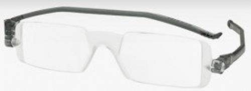 Reading Glasses Nannini Compact 1 Folding Reading Glasses Grey-strength +2.00 by For Your Eyes Only