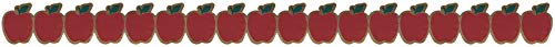 Teacher Created Resources Home Sweet Classroom Apples Die-Cut Border Trim Photo #2