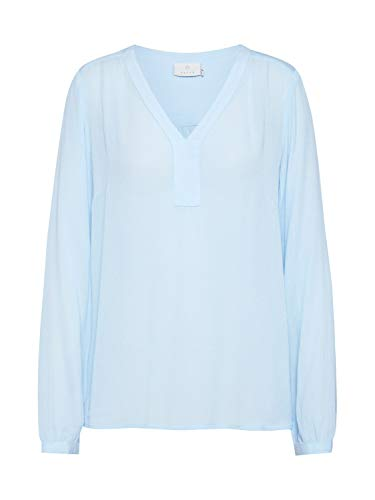 KAFFE Damen Bluse hellblau 36 (S)