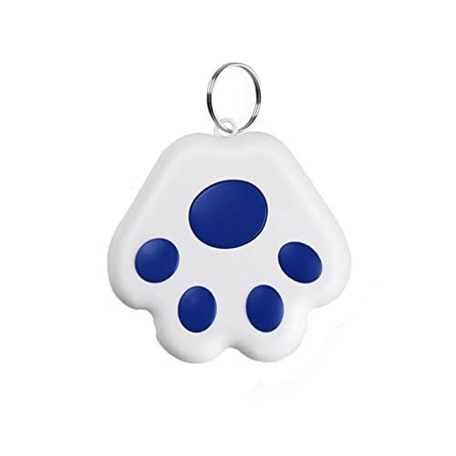 Traceur GPS pour Chien Chat, Localisateur Bluetooth, Localisateur de clés, Mini GPS Tracker Localiser pour Animaux de Compagnie,Traceur GPS pour Enfant Personne Âgée,JENCRL (Bleu foncé)