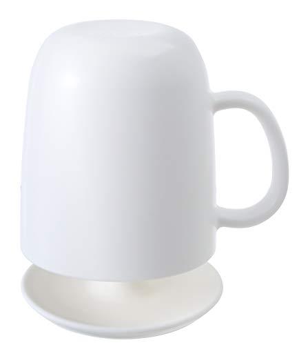 マーナ(MARNA) コップ取っ手付き スタンドセット ホワイト きれいに暮らす。 W613W