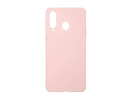 Hülle für Samsung Galaxy A8s - Hülle Soft Flex - Rosa Handyhülle Schutzhülle Etui Hülle Cover Tasche für Handy