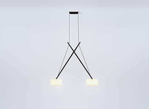 Serien Lighting - Twin Pendelleuchte - schwarz - Hans Karuga - Design - Hängeleuchte - Wohnzimmerleuchte