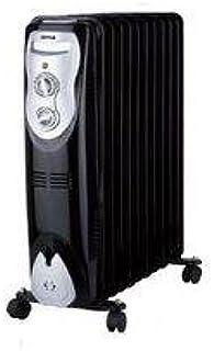 Zephir ZRA1511 Negro, Plata 2500W Radiador - Calefactor (Radiador, Aceite, Piso, Negro, Plata, Giratorio, 2500 W)