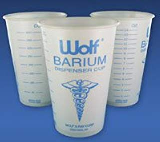 5949106 Wolf X-Ray Barium Cup 14oz 100/Pk 15601 Sold AS Pack