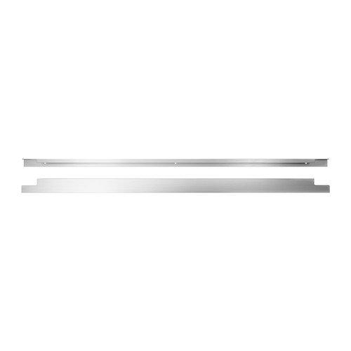 Ikea BLANKETT Möbel Griffe aus Aluminium; (795mm); 2 Stück