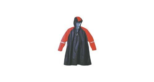 Hock Regenbekleidung Super Praktiko Zipp Poncho, Bordeaux, XXL