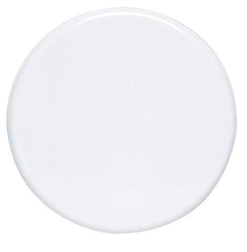Sélection Brico-travo 208158 Cache-plaques, Blanc, 1-Pack