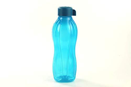 Tupperware Eco to Go 750ml dunkeltürkis Trinkflasche Drehverschluss