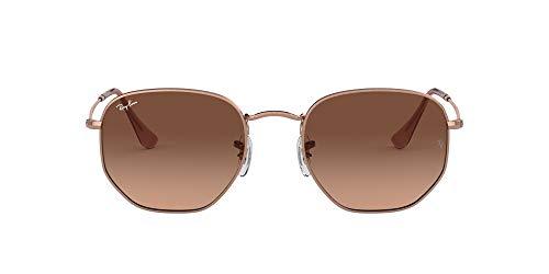 Ray-Ban 0RB3548N Gafas de sol, Copper, 53 Unisex