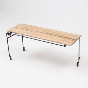 ネイチャートーンズ キッチンカウンターテーブル(本体) オプションテーブル ダークブラウン (OWT-DB) キャンプ テーブル Nature tones