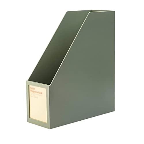 ROEWP Libreria Semplice Scatola di immagazzinaggio Singolo, Bookshelf di plastica Desktop, bookrack Desk Organizer School Biblioteca Forniture per Ufficio, Bookend Scaffale per la casa dell'ufficio