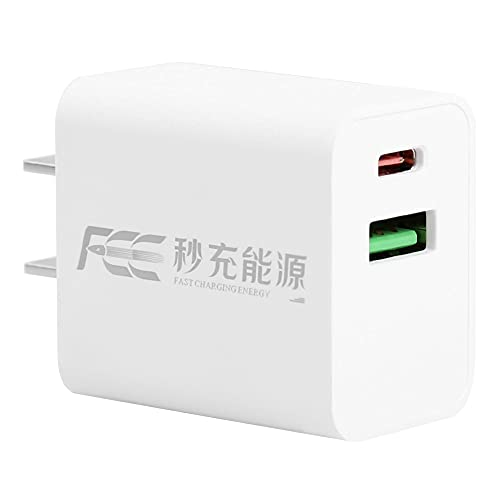HuangjinyeTY USB C Charger, Anker Nano Charger PIQ 3.0 Durable Compact Fast Charger, PowerPort III for iPhone 12/12 Mini/12 Pro/12 Pro Max/11, Galaxy, Pixel 4/3, iPad Pro (Cable Not Included)