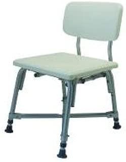 MediChoice Shower Chair, w/Backrest, Adjustable 16-20 Inch, Aluminum, Bariatric - 600 lbs Capacity, 2867BTH251 (1 Each)
