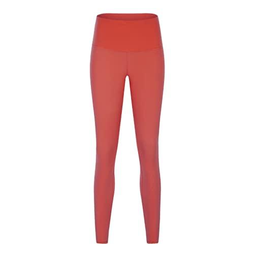 QTJY Fitness Estiramiento Cintura Alta Levantamiento de Cadera Pantalones de Yoga para Mujer Leggings de Secado rápido Pantalones de Fitness al Aire Libre Pantalones de Yoga IL